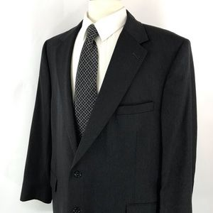 Jos. A. Bank 2 Button Charcoal Gray Suit Jacket
